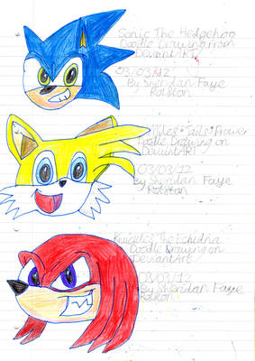 The Sonic Heroes! :D
