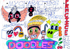CHARACTER DOODLES! by badberry123