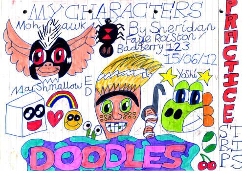 CHARACTER DOODLES!