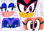 Sonic Character Eyes Attempt. :)