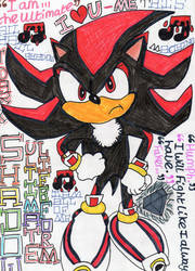 Shadow The Hedgehog. :D by badberry123