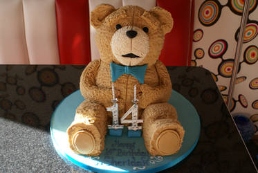 My 14th Ted Birthday Cake. :) by badberry123
