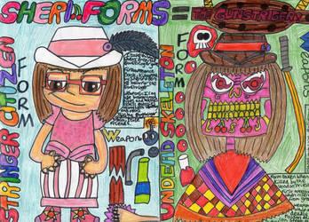 Sheri Forms = The Gunstringer. by badberry123