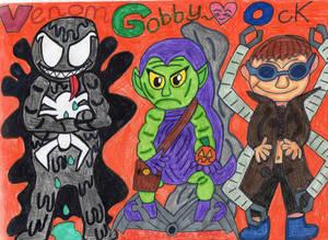 The Spidey Movie Trio.