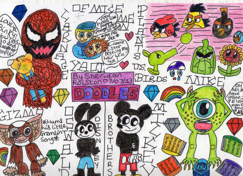 Mixed Little Doodles