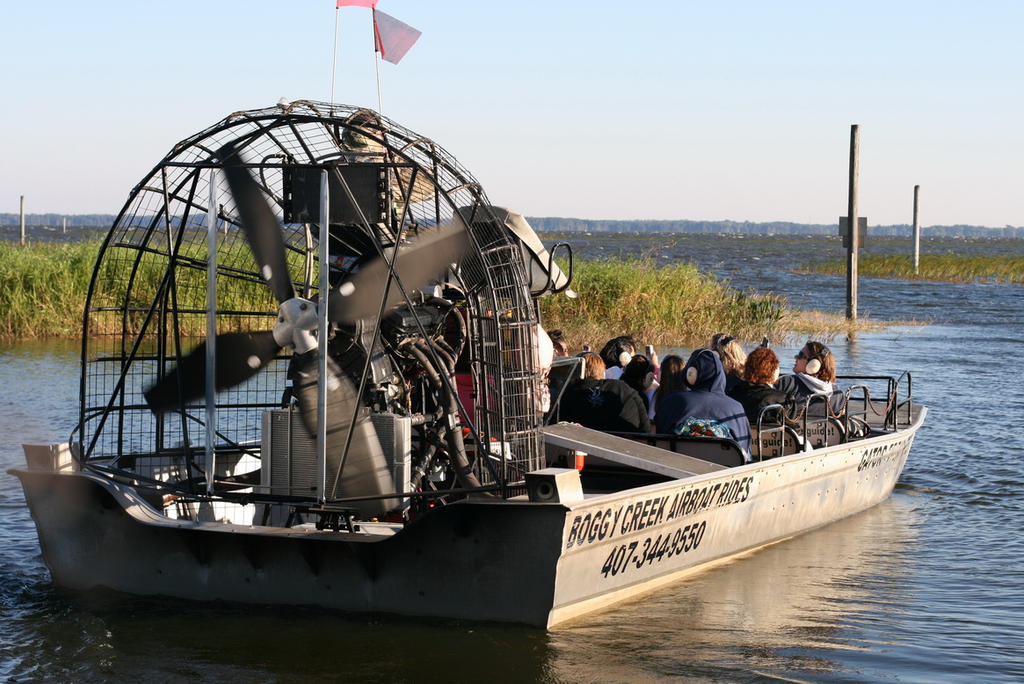 Best Airboat Rides in Orlando Central Florida by