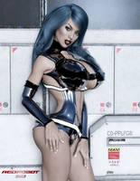 Sci Fi Siren by Redrobot3D