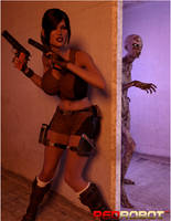 Cara Lox Vs The Zombies by Redrobot3D
