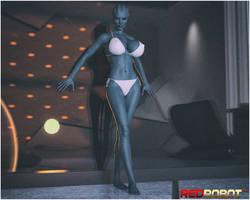 The Asari's Quarters by Redrobot3D