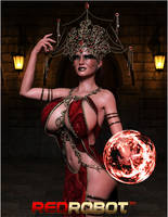Night Magic by Redrobot3D