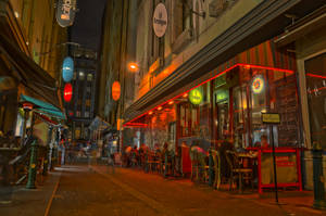 Degraves St, Melbourne HDR by 0-Circus-Freak-0