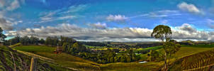 Tasmania, HDR Panorama by 0-Circus-Freak-0