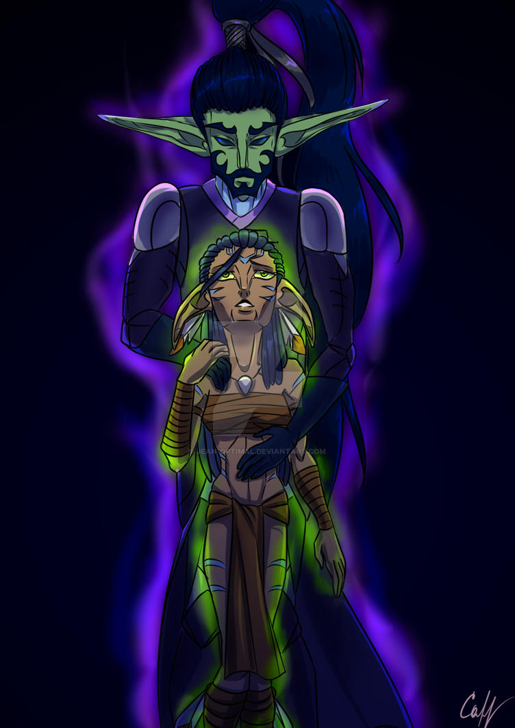 Nerad the Dark-Eyed and Ariadne by Jean-Optimal