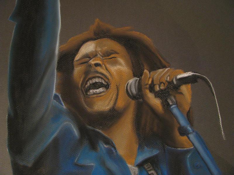 Bob Marley by Satinah