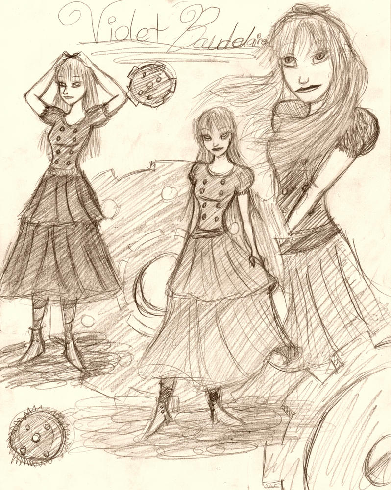 Violet Baudelaire by TakaraxDaydreamer