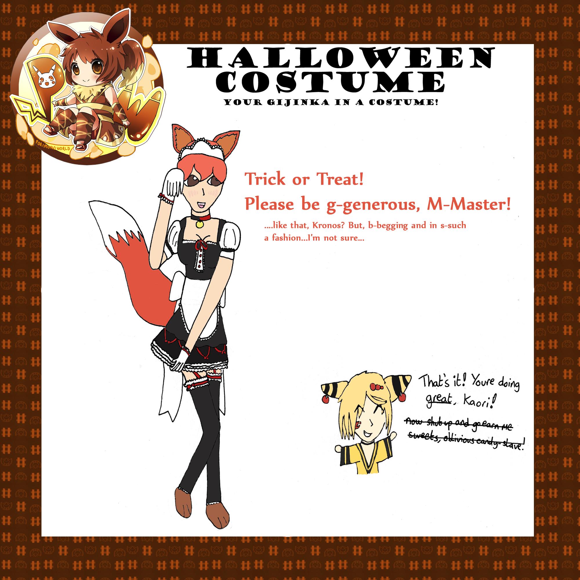 Kaori Halloween Meme by Irish-Dark-Faerie on DeviantArt