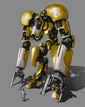 Robo excavator