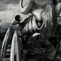 Robo Alien miniature by MarcinTurecki