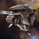 Spaceship miniature