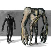 Mutants miniature by MarcinTurecki