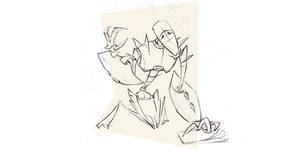 Robo 01 sketch by MarcinTurecki