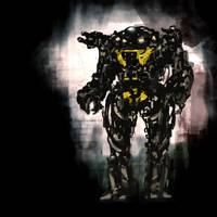Robot 01 by MarcinTurecki
