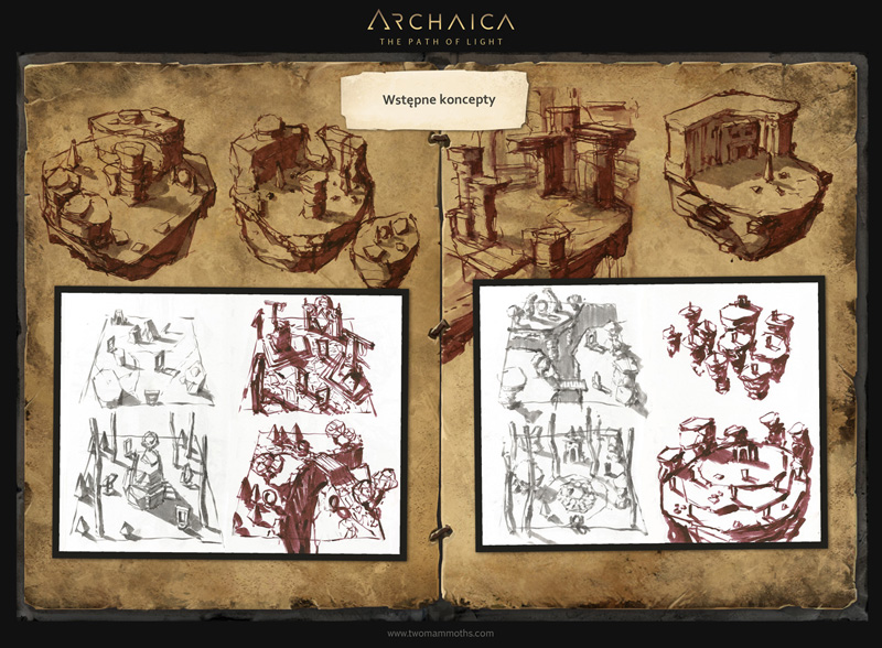 Archaica: The Path of Light - artbook (PL) str 20 by MarcinTurecki