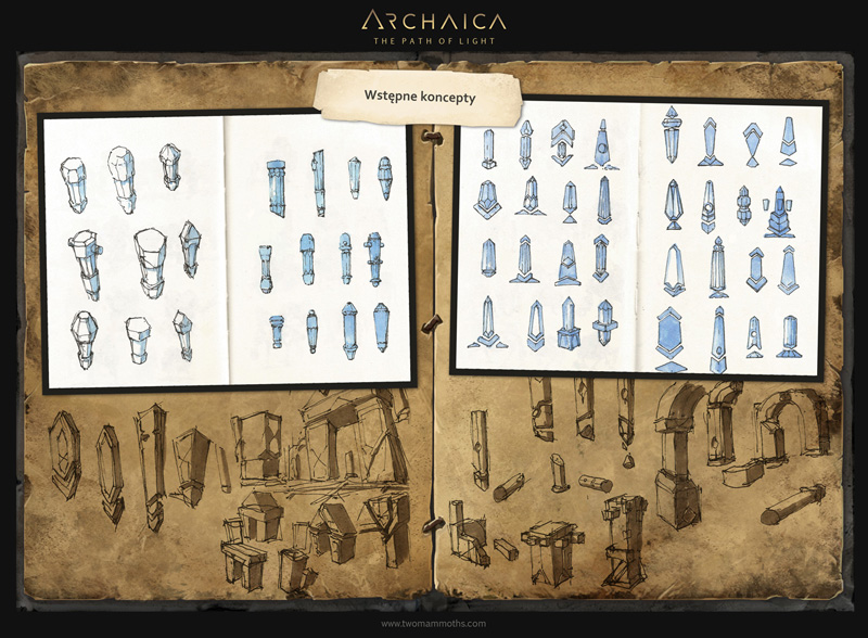 Archaica: The Path of Light - artbook (PL) str 21 by MarcinTurecki