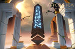 Archaica: The Path Of Light - Temples - Signpost