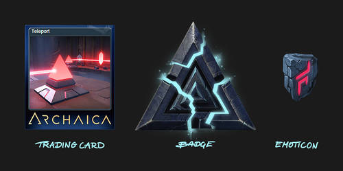 Archaica - Trading Card, Badge and Emoticon