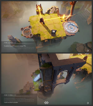 In-game tutorial in Archaica