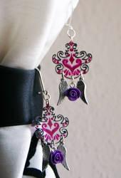 earrings 03 by zebrrra
