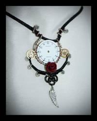 steampunk pendant by zebrrra