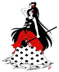 Queen of Spades by ukeness