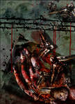 hand of destruction by bluretina