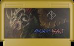 Ancient Beast NES cartridge