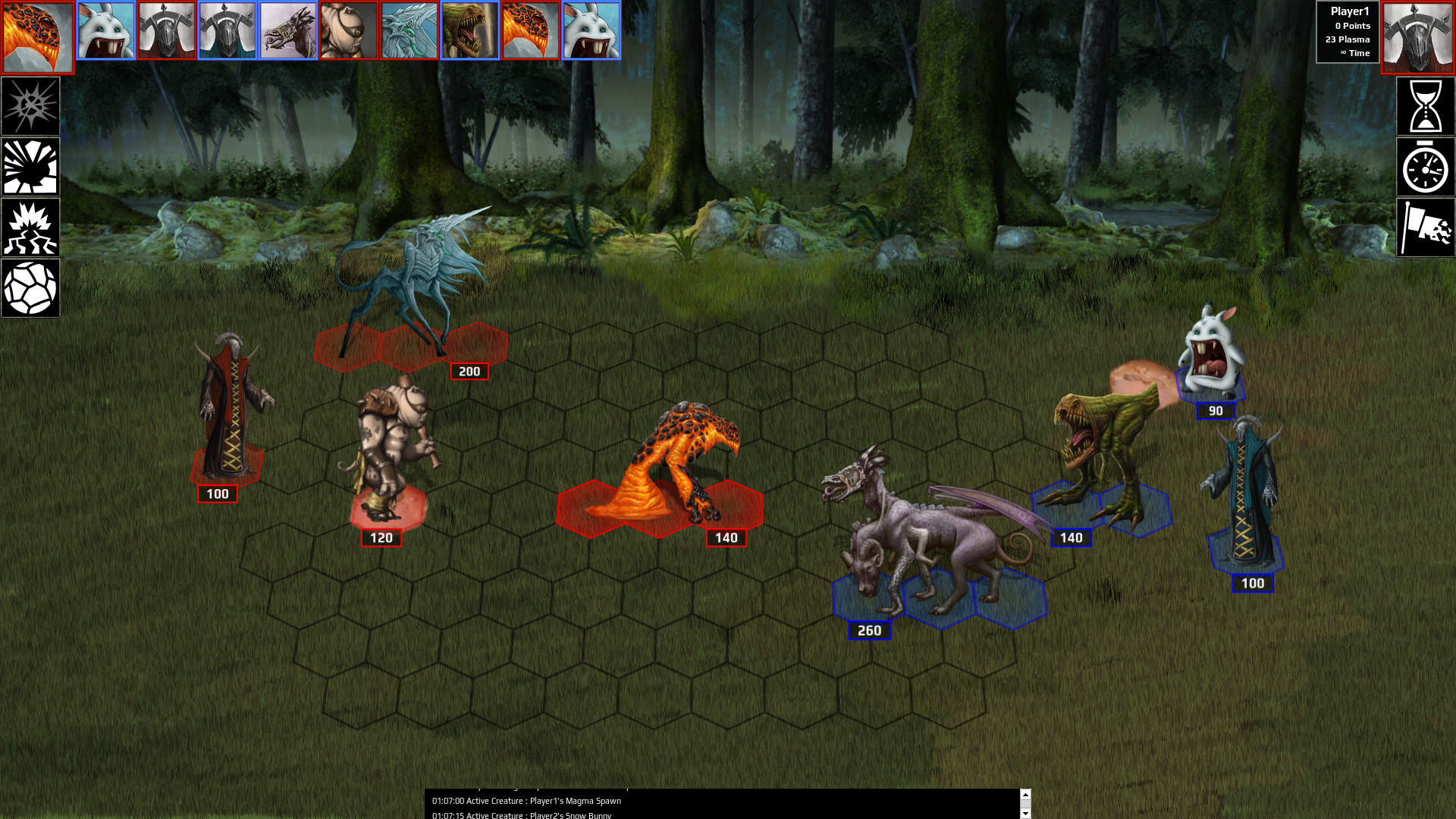 Ancient Beast 1vs1 Dark Forest by DreadKnight666