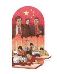 China Politics and economy by danielgarciaart