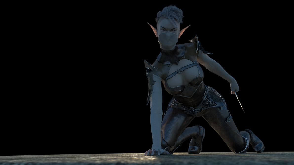 Vyrellis, Eladrin Princess by Silver-Sliver