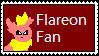 .:Flareon Fan Stamp:. by EvilEevee5