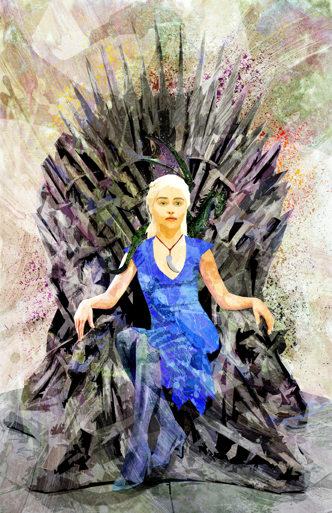 Daenerys Targaryen by skyscraper48
