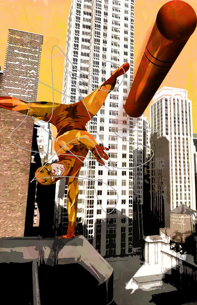 Daredevil Yellow by skyscraper48
