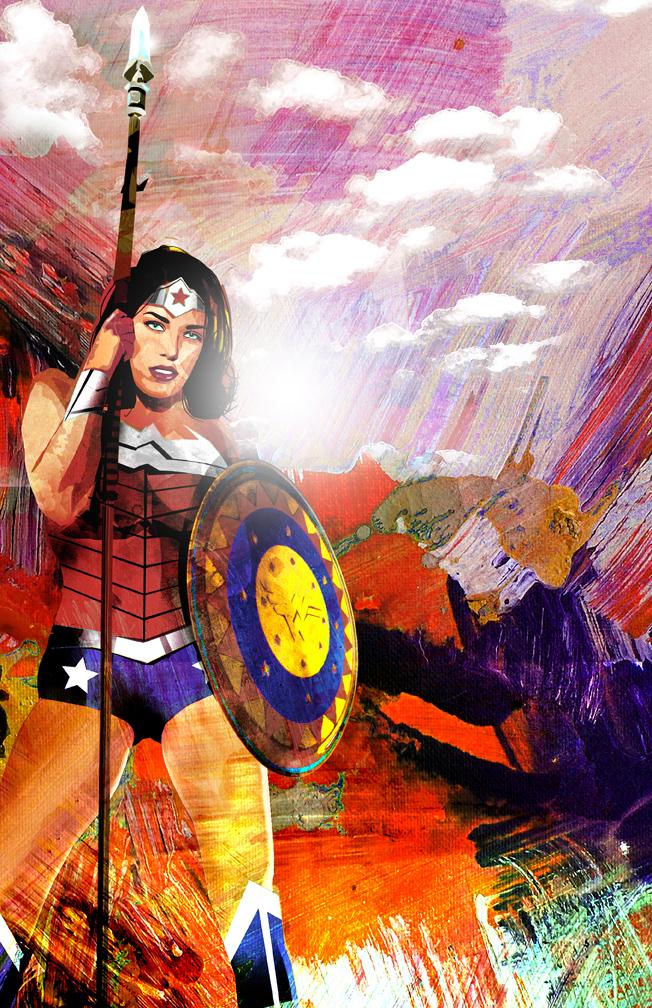 Wonder Woman 2 by skyscraper48
