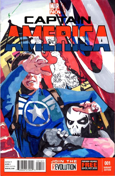 Captain America in Adams Morgan Sketch Cover by skyscraper48