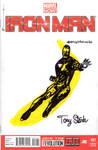 Iron Man Velvet Underground Sketch Cover