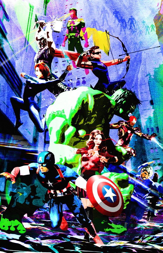 Avengers Age Of Ultron By Iloegbunam On Deviantart: Avengers Age Of Ultron By Skyscraper48 On DeviantArt