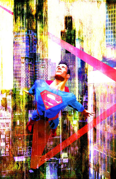 City Gritty Superman by skyscraper48