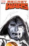 Dr. Doom on Secret Wars Cover