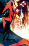 Straw Spider-Man 2099