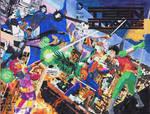 Teen Titans sketchcover